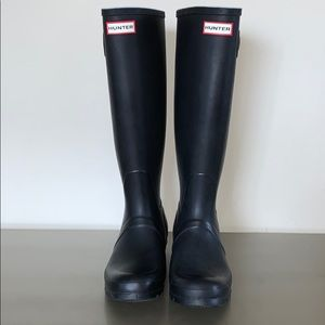 Hunter Women's Original Tall Rain Boots Black